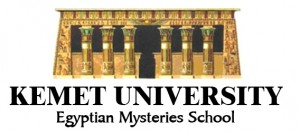 Kemet University Mysteries School Logo wide