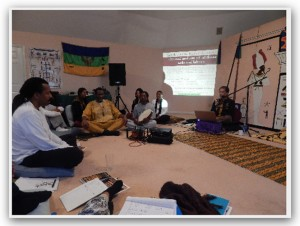 Picture from 2013 neterian conference meditation session