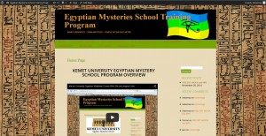 Egyptian Mysteries front page picture