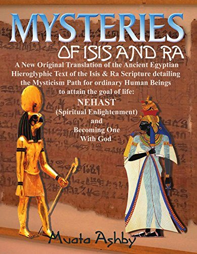 Book-Mysteries of Isis and Ra: A New Original Translation Hieroglyphic  Scripture of the Aset(Isis) & Ra