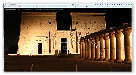 VISIT: Temple of Aset web site